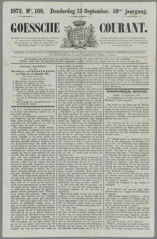 Goessche Courant 1872-09-12