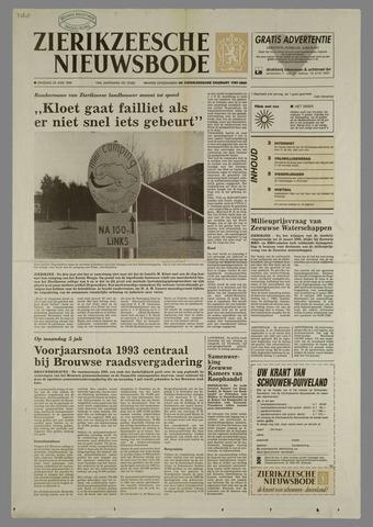 Zierikzeesche Nieuwsbode 1993-06-29
