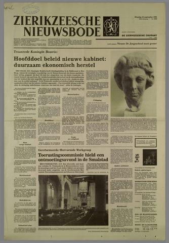 Zierikzeesche Nieuwsbode 1981-09-15