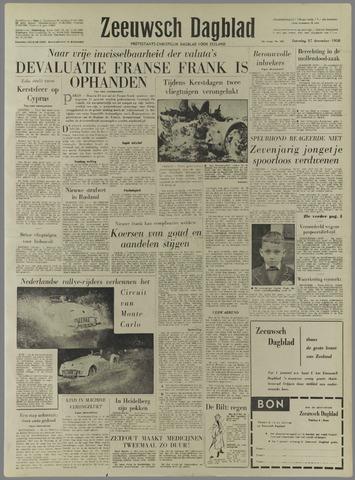 Zeeuwsch Dagblad 1958-12-27
