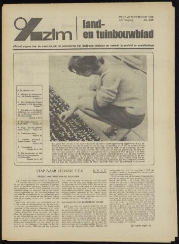 Zeeuwsch landbouwblad ... ZLM land- en tuinbouwblad 1970-02-11