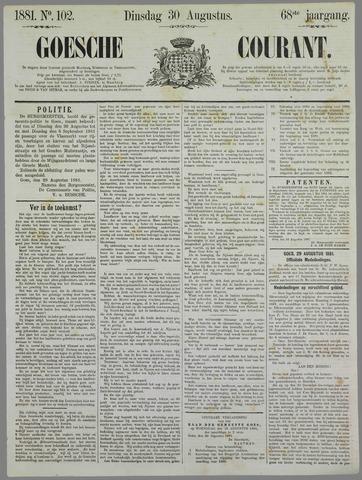 Goessche Courant 1881-08-30
