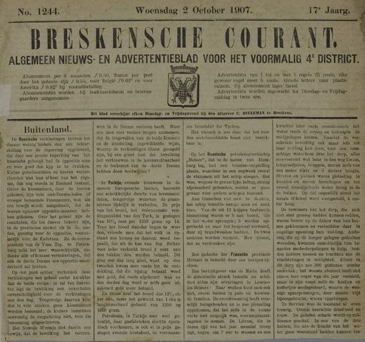 Breskensche Courant 1907-10-02