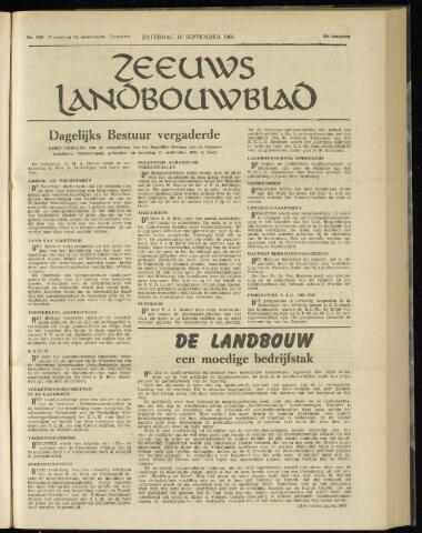 Zeeuwsch landbouwblad ... ZLM land- en tuinbouwblad 1961-09-16