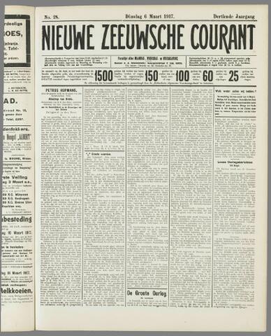 Nieuwe Zeeuwsche Courant 1917-03-06