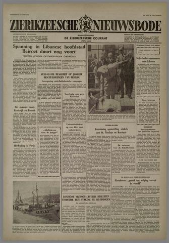 Zierikzeesche Nieuwsbode 1958-06-19