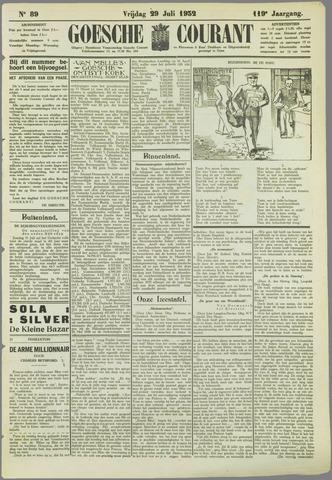 Goessche Courant 1932-07-29