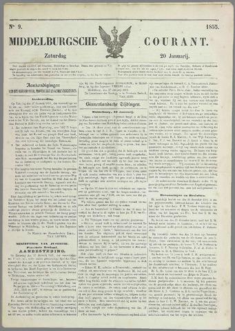 Middelburgsche Courant 1855-01-20
