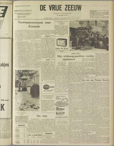 de Vrije Zeeuw 1962-11-10