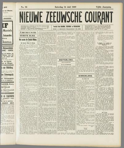 Nieuwe Zeeuwsche Courant 1909-07-24