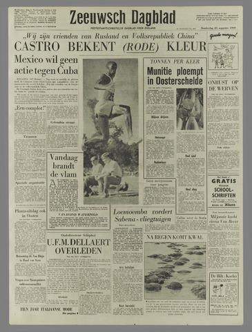 Zeeuwsch Dagblad 1960-08-25