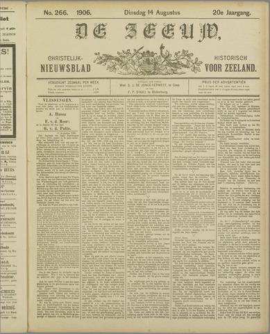 De Zeeuw. Christelijk-historisch nieuwsblad voor Zeeland 1906-08-14
