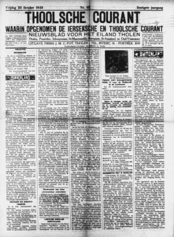 Ierseksche en Thoolsche Courant 1943-10-22