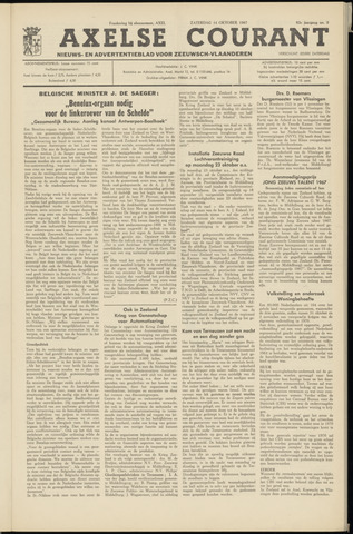 Axelsche Courant 1967-10-14