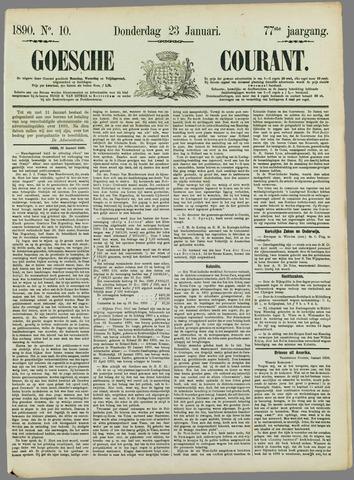 Goessche Courant 1890-01-23
