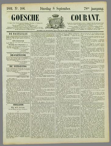 Goessche Courant 1891-09-08
