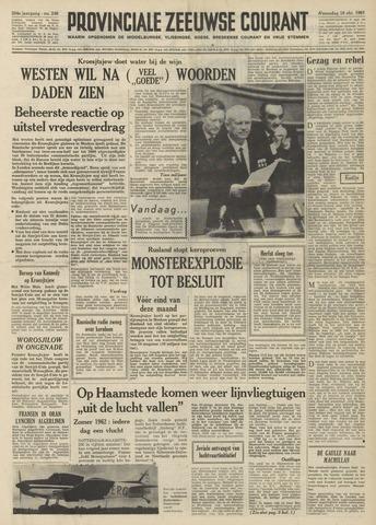Provinciale Zeeuwse Courant 1961-10-18