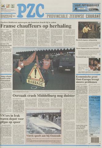 Provinciale Zeeuwse Courant 1997-11-03
