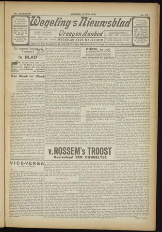 Zeeuwsch Nieuwsblad/Wegeling's Nieuwsblad 1931-06-12