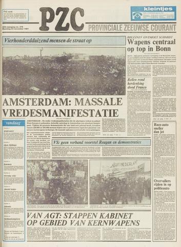 Provinciale Zeeuwse Courant 1981-11-23