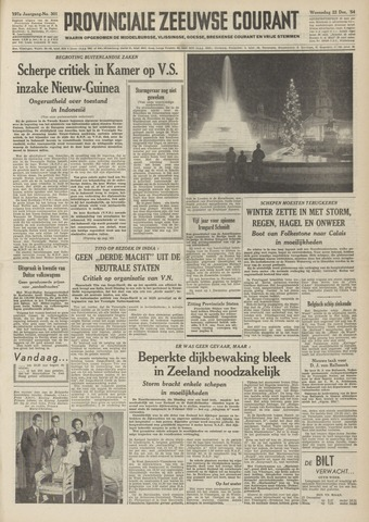 Provinciale Zeeuwse Courant 1954-12-22