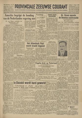 Provinciale Zeeuwse Courant 1949-03-11