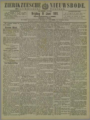 Zierikzeesche Nieuwsbode 1911-06-09