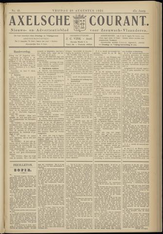 Axelsche Courant 1931-08-28