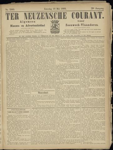 Ter Neuzensche Courant. Algemeen Nieuws- en Advertentieblad voor Zeeuwsch-Vlaanderen / Neuzensche Courant ... (idem) / (Algemeen) nieuws en advertentieblad voor Zeeuwsch-Vlaanderen 1889-05-18