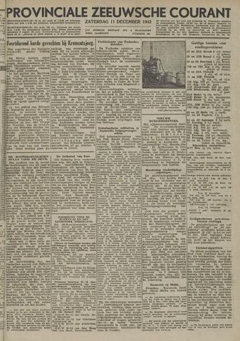 Provinciale Zeeuwse Courant 1943-12-11