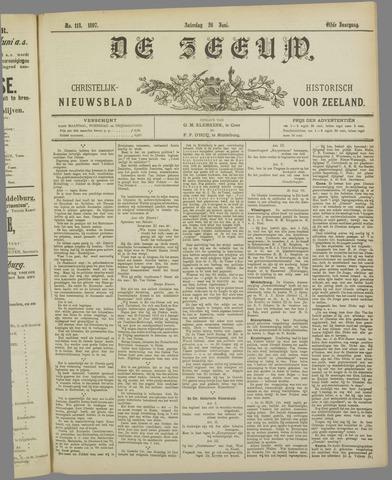 De Zeeuw. Christelijk-historisch nieuwsblad voor Zeeland 1897-06-26