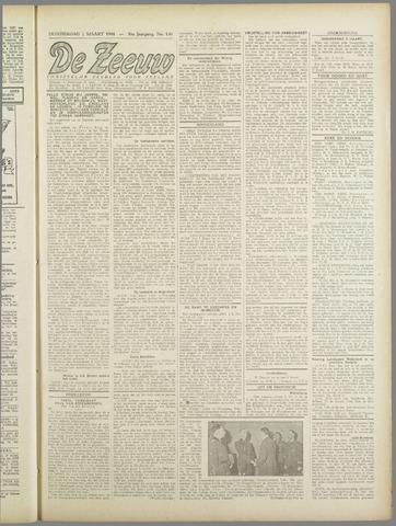 De Zeeuw. Christelijk-historisch nieuwsblad voor Zeeland 1944-03-02