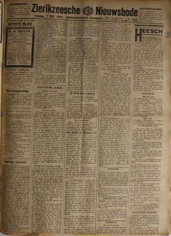 Zierikzeesche Nieuwsbode 1921-10-07