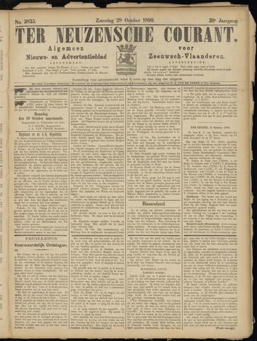 Ter Neuzensche Courant. Algemeen Nieuws- en Advertentieblad voor Zeeuwsch-Vlaanderen / Neuzensche Courant ... (idem) / (Algemeen) nieuws en advertentieblad voor Zeeuwsch-Vlaanderen 1899-10-28