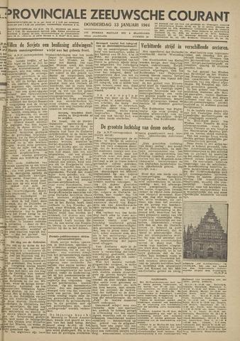 Provinciale Zeeuwse Courant 1944-01-13