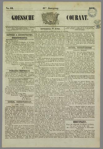 Goessche Courant 1854-06-08