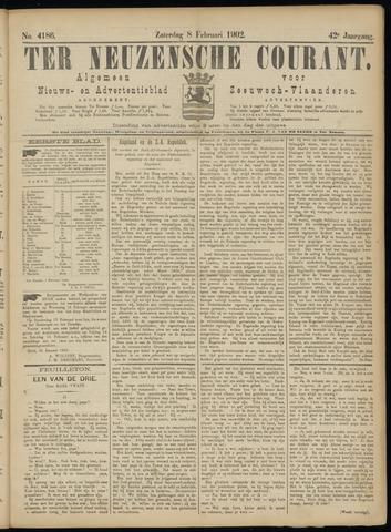 Ter Neuzensche Courant. Algemeen Nieuws- en Advertentieblad voor Zeeuwsch-Vlaanderen / Neuzensche Courant ... (idem) / (Algemeen) nieuws en advertentieblad voor Zeeuwsch-Vlaanderen 1902-02-08
