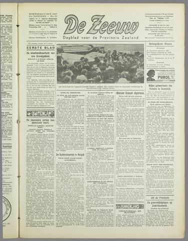 De Zeeuw. Christelijk-historisch nieuwsblad voor Zeeland 1937-10-27