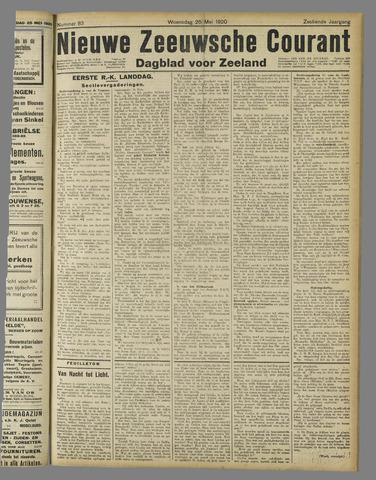 Nieuwe Zeeuwsche Courant 1920-05-26