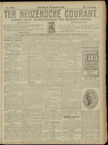 Ter Neuzensche Courant. Algemeen Nieuws- en Advertentieblad voor Zeeuwsch-Vlaanderen / Neuzensche Courant ... (idem) / (Algemeen) nieuws en advertentieblad voor Zeeuwsch-Vlaanderen 1919-11-08