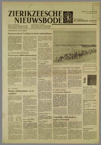 Zierikzeesche Nieuwsbode 1962-08-07