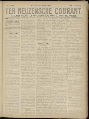 Ter Neuzensche Courant. Algemeen Nieuws- en Advertentieblad voor Zeeuwsch-Vlaanderen / Neuzensche Courant ... (idem) / (Algemeen) nieuws en advertentieblad voor Zeeuwsch-Vlaanderen 1924-03-17