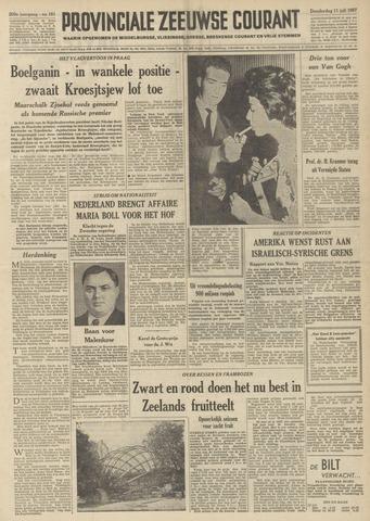 Provinciale Zeeuwse Courant 1957-07-11
