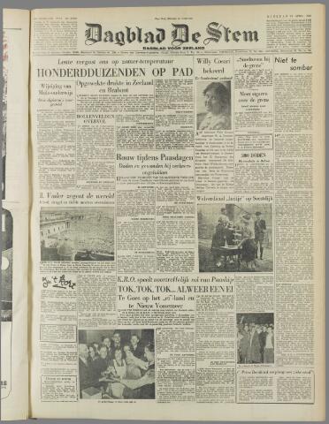 de Stem 1952-04-15