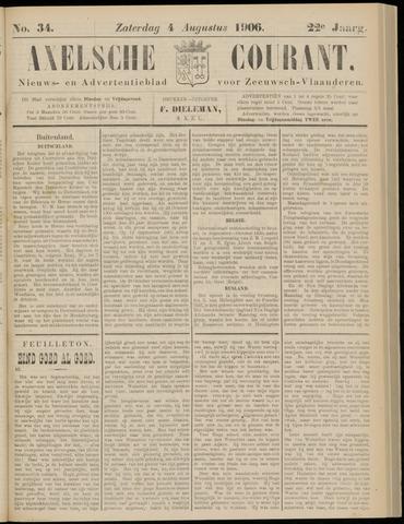 Axelsche Courant 1906-08-04