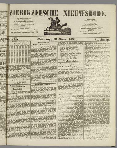 Zierikzeesche Nieuwsbode 1851-03-10