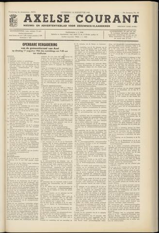 Axelsche Courant 1965-08-14
