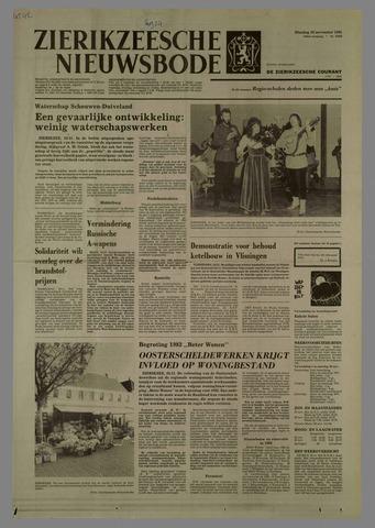 Zierikzeesche Nieuwsbode 1981-11-24