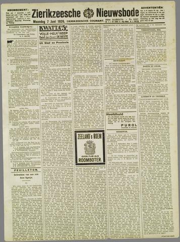 Zierikzeesche Nieuwsbode 1926-06-07