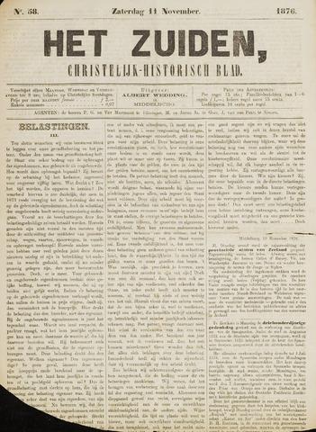 Het Zuiden, Christelijk-historisch blad 1876-11-11